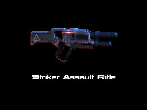Mass Effect 3: Groundside Resistance DLC Pack Striker Assault Rifle