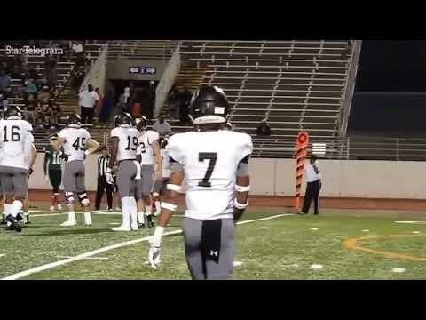 RAW: UCLA football recruit lays the wood on Arlington