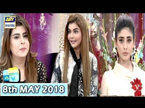 Good Morning Pakistan - 8th May 2018 - ARY Digital Show