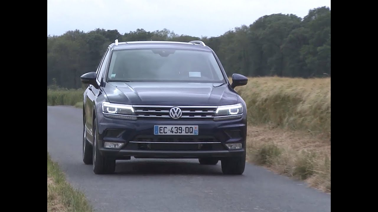 essai volkswagen tiguan 2 0 tdi 190 4motion dsg7 carat edition 2016 youtube. Black Bedroom Furniture Sets. Home Design Ideas