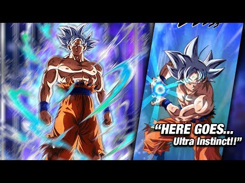 NEW ULTRA INSTINCT GOKU DOKKAN BOSS EVENT! Dragon Ball Z Dokkan Battle