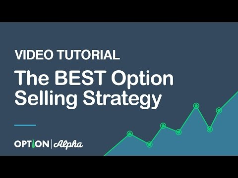 The BEST Option Selling Strategy Video Tutorial