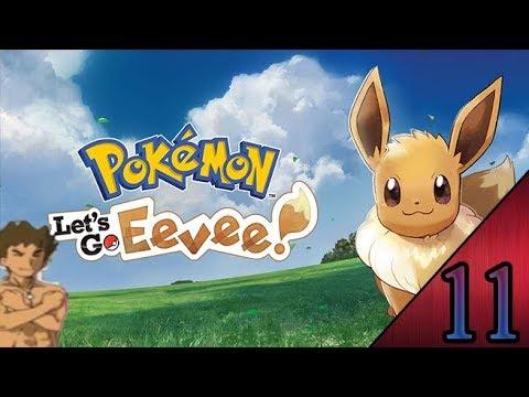 Pokemon Let's Go Eevee Playthrough part 11 - Marsh Badge ...