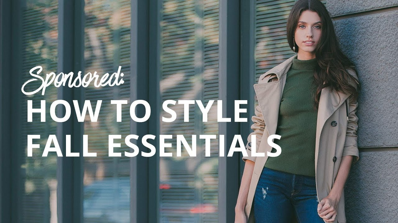 How To Style Fall's Best Essentials | The Zoe Report By Rachel Zoe