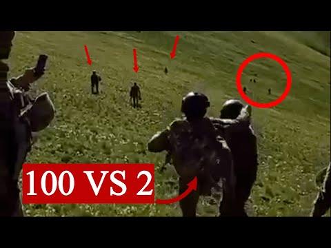 Больше 100 военных Азербайджана напали на 2 солдат Армении