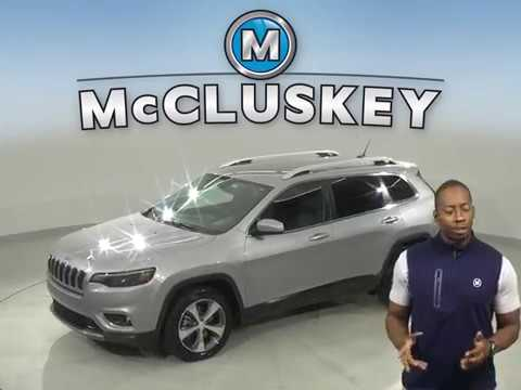 G16729TR Used 2019 Jeep Cherokee Gray SUV Test Drive, Review, For Sale -