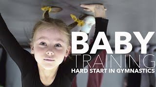 Как начинается Художественная гимнастика Дети и Тренировка