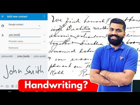 OCR Explained...Handwriting Recognition!!!