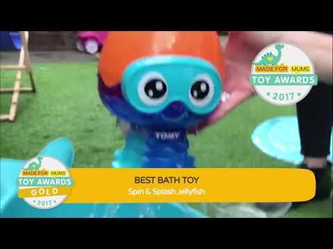Toomies Spin & Splash Jellyfish | Gold Winner, MadeForMums Toy Awards 2017