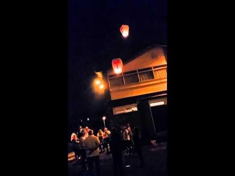 A lantern tribute to Simon Dutton. RIP...KTF