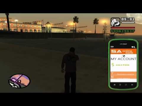 GTA San Andreas  Mod Tanıtımlar Bölüm #3 Telefon modu