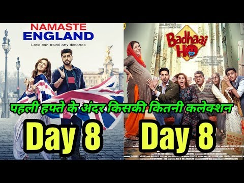Namaste England Vs Badhaai Ho 1st Week Collection | Who Wins At Box Office?