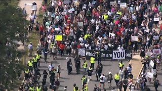 'Free Speech Rally' Cut Short by Counterprotest
