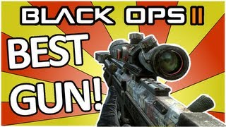 Black Ops 2: BEST SNIPER IN THE GAME (Gameplay/Commentary)