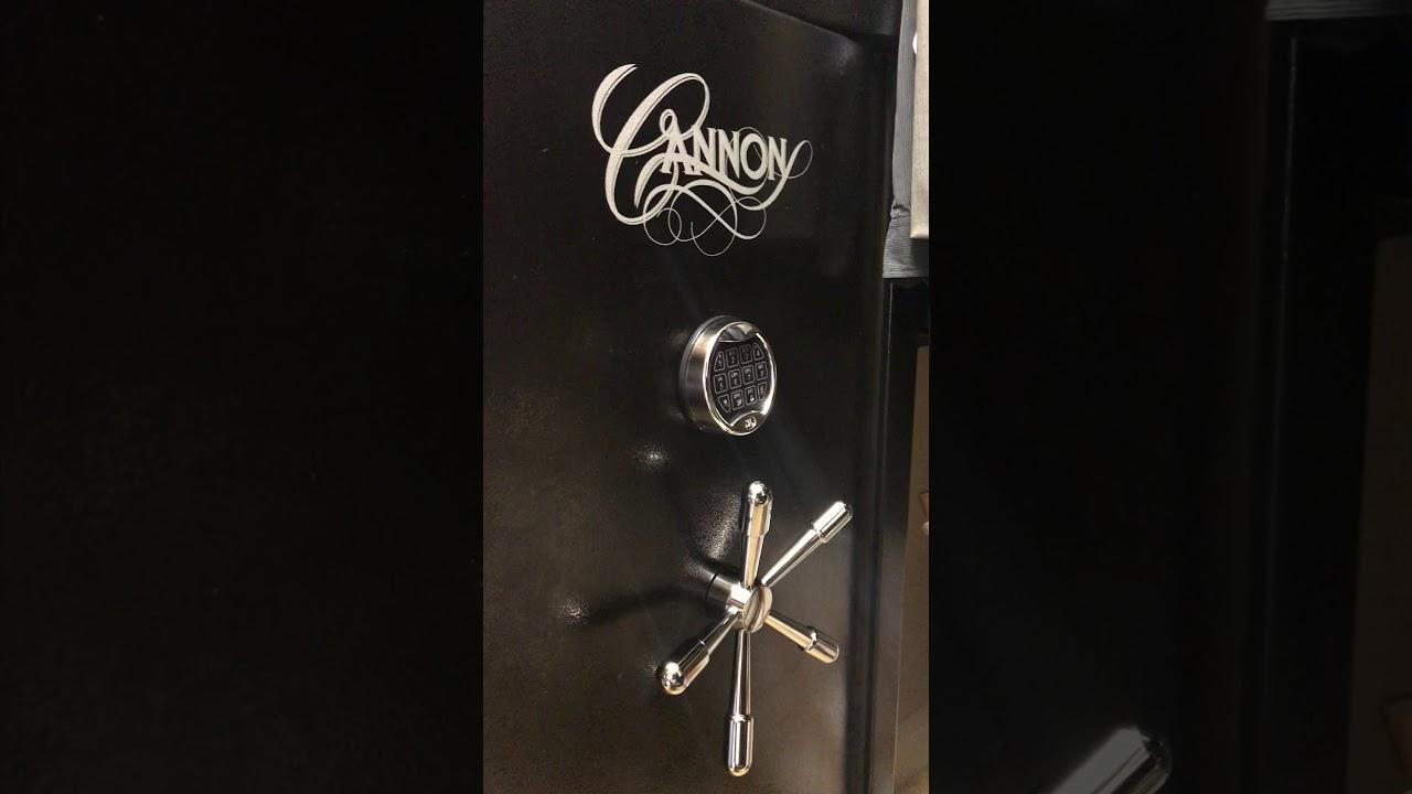 Cannon Shield Series Safe with NL Keypad won't lock