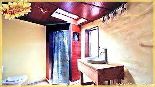 Working Bathroom,  Stucco & Wedding!  | Kitchen & Bathroom Earthbag Add-on Ep19 | WP