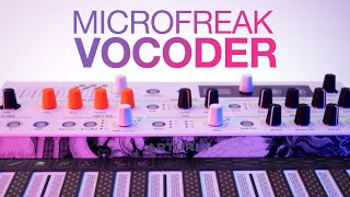 ARTURIA MICROFREAK VOCODER: First Look & Walkthrough!