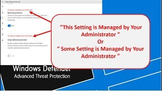 """[ SOLVED ] - """"This Setting is Managed by Your Administrator""""[Greyed Out] 