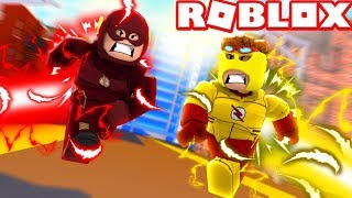 ROBLOX FLASH AND KID FLASH?! Roblox Superhero life 2 roleplaying game!