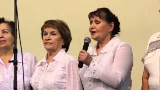 """Церковь """"Любовь Христа"""", выступление хора """"Поющие сердца"""", 07.01.2014"""