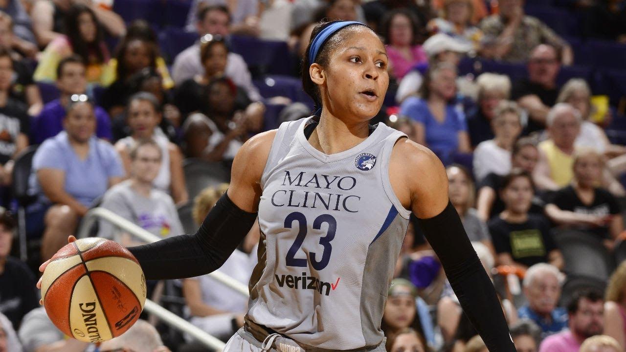 09e17f428c9 Maya Moore Scores Season-High 38 Points vs. Mercury - YouTube