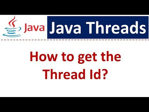 Java Tutorial : Java Threads (How to get the Thread Id)