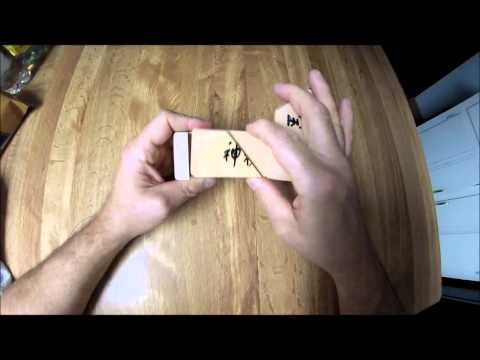 wooden puzzle box GEOCACHE