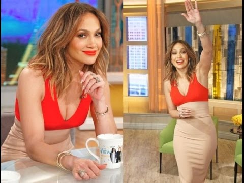 Jennifer Lopez interview on The View 2016 March