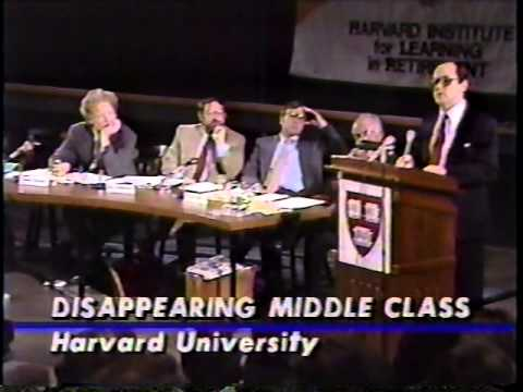 Harvard Debate on inequality 1987
