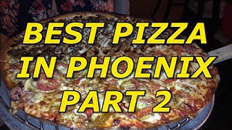 BEST PIZZA IN PHOENIX ARIZONA? Episode 2 - Spinatos