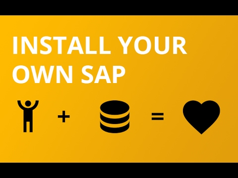 How to install your own SAP 7.50  [Step by step]