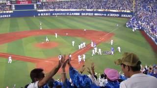 横浜DeNAベイスターズ(YOKOHAMA DeNA BAYSTARS)/9回裏くららが打っ...