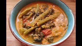 ಬಸಳ ಕಜಪ  Basale curry recipe in Tulu  Malabar spinach curry  Indian curry
