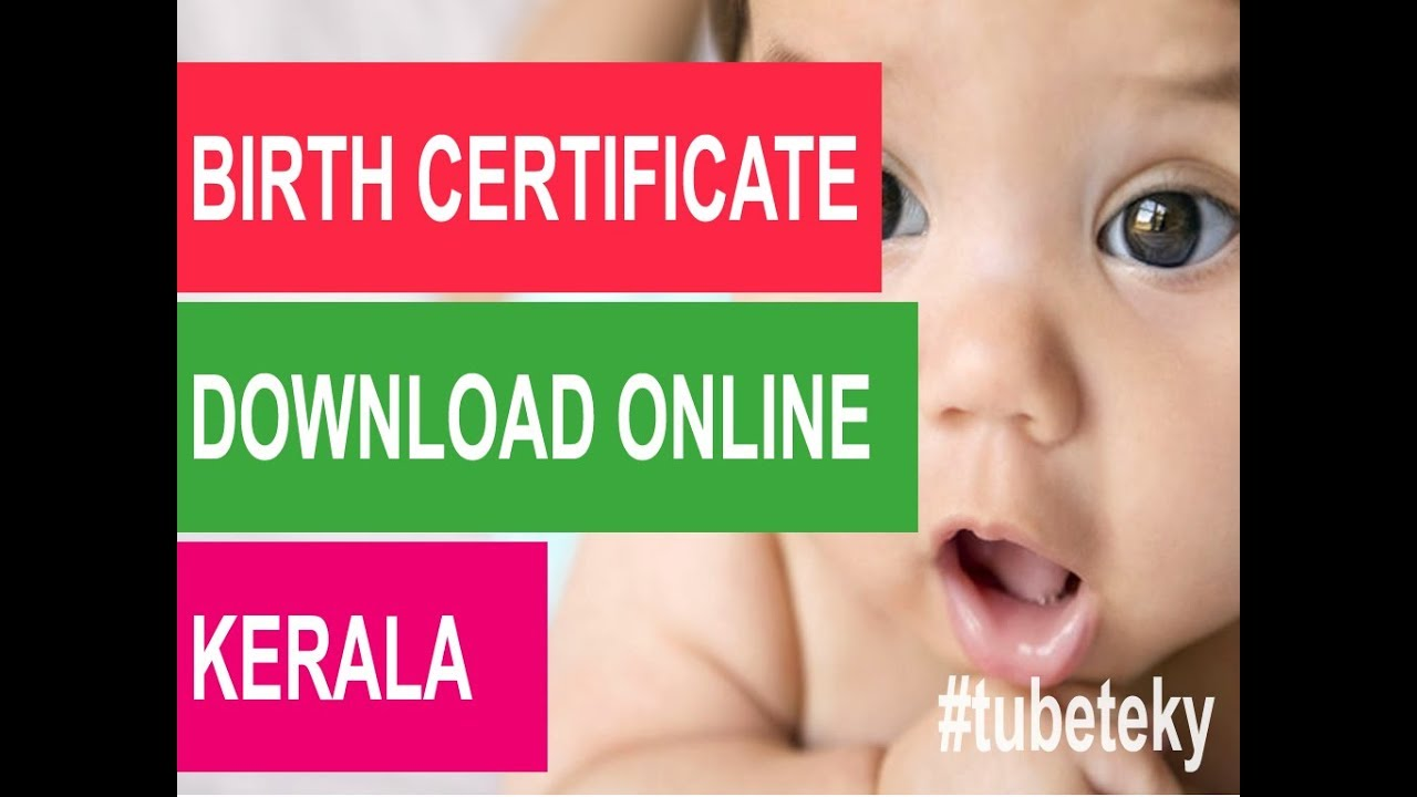 How To Get Birthdeathmarriage Certificate Online Youtube