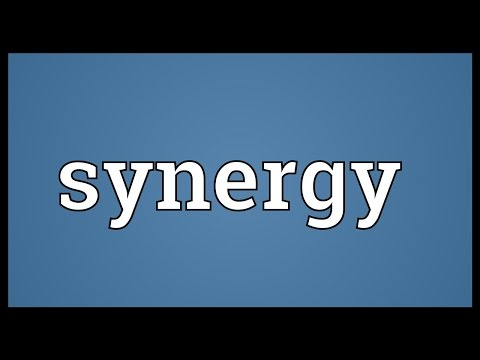 Synergy Meaning