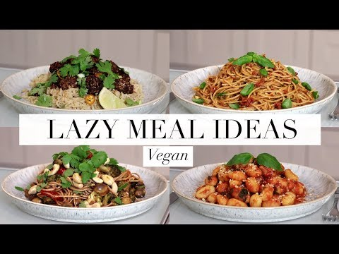 Lazy Meal Ideas (Vegan/Plant-based) | JessBeautician