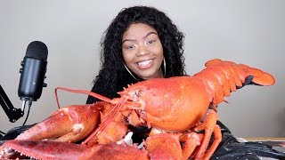 GIANT 15LB LOBSTER MUKBANG WITH BLOVE SAUCE!!!!