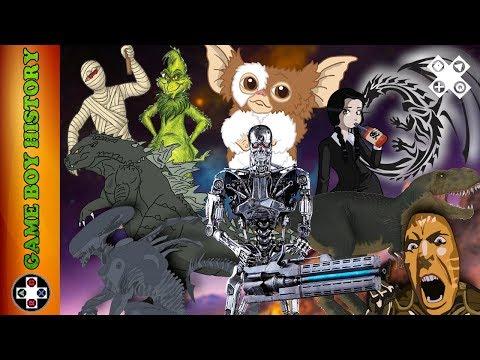 GAME BOY HISTORY #11 - Criaturas del Cine (dan más miedo jugarlos que verlos)