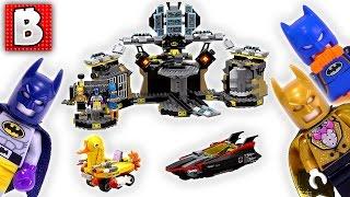 Lego Batman Movie Batcave Break-in Review! Set 70909 | Unbox Build Time Lapse