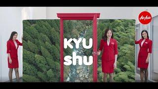 "AirAsia   Fukuoka ""Happiness Reactivation"" Cream"