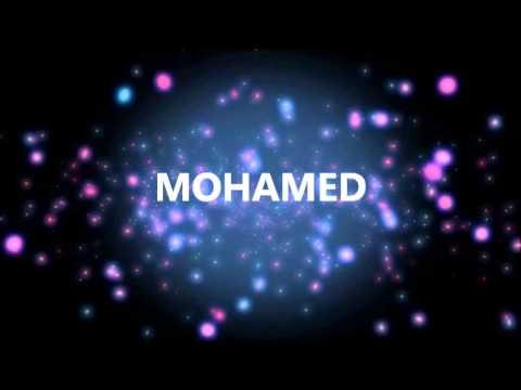 Joyeux Anniversaire Mohamed Youtube