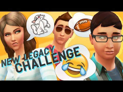 You NEED to See THIS // Legacy Ep 1 // The Sims 4 Lets Play thumbnail