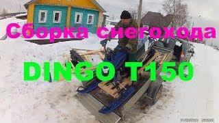 Сборка новенького снегохода Irbis DINGO T150 (2018 г.в.)