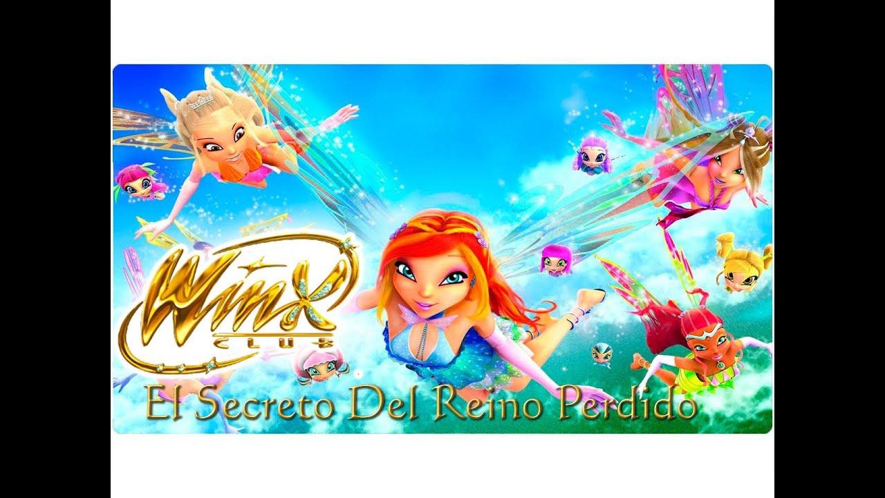 Winx Club El Secreto Del Reino Perdido Película Español Latino Youtube