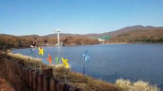 풍경이 멋진 율동공원 전경