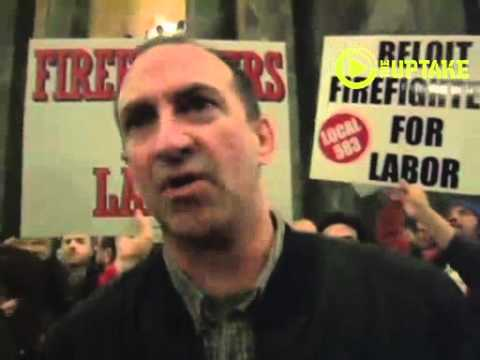 Madison Firefighters Prez Calls For General Strike