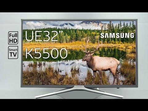Обзор телевизора Samsung UE32K5500