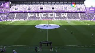 Calentamiento Real Valladolid CF vs D. Alavés