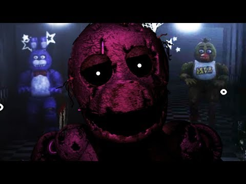 PLAY AS THE PURPLE GUY..DO NOT LET THE ANIMATRONICS GET INSIDE! || Five Nights at Freddys Remastered thumbnail
