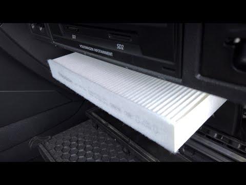 VW Golf MK7 (5G) cabin pollen air filter replacement indir